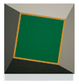 Green-Gold Square Twist, 2009