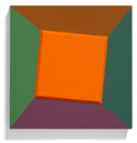 Orange Bevel Square, 2009