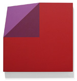 Red and Violet Bent Corner Square, 2010