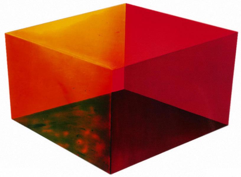Ronald Davis, Cube III, 1971